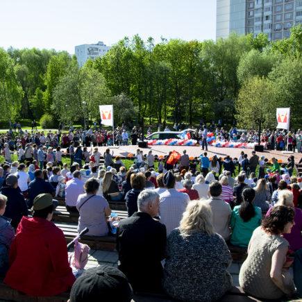 День Победы 2018 в парке Ангарские пруды