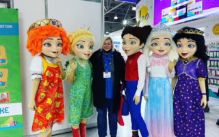 Светлана Мурси на выставке Kids Russia 2021